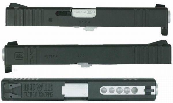 DETONATOR G17Hybrid B.T.C.カスタムスライド - Black