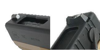 DETONATOR 東京マルイ Glock18C対応・XS Big Dotタイプ スチールサイトセット