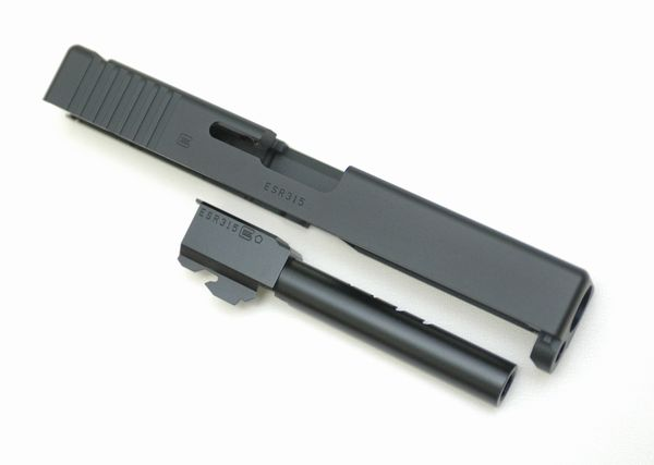 DETONATOR 東京マルイ Glock18C対応・Glock18C カスタムスライド-Black