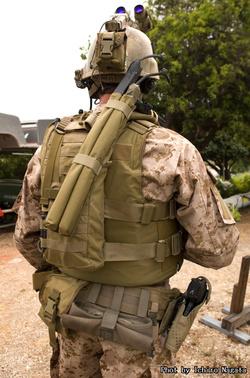 Proud Navy Seals Slap Charge (Dummy)