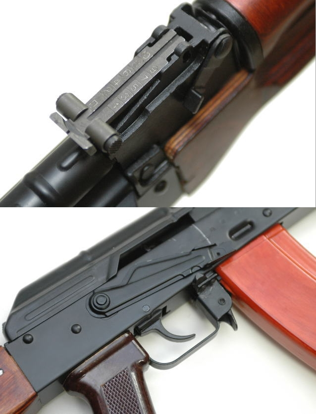 GHK AK-74 GBB カスタム DX
