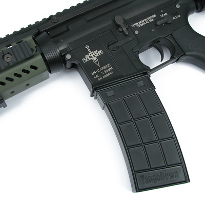 King Arms M4 130 rounds TangoDown Style Magazines Box Set (5pcs) - BK