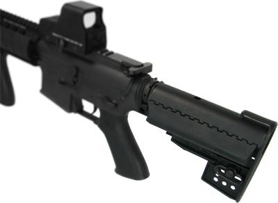 M4 Clubfoot Modstock - BK w/ Pipe & 1400mAh-9.6V Battery